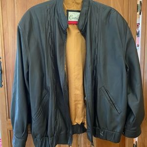 Other - Cavallini Beverly Hills Italy brown leather jacket